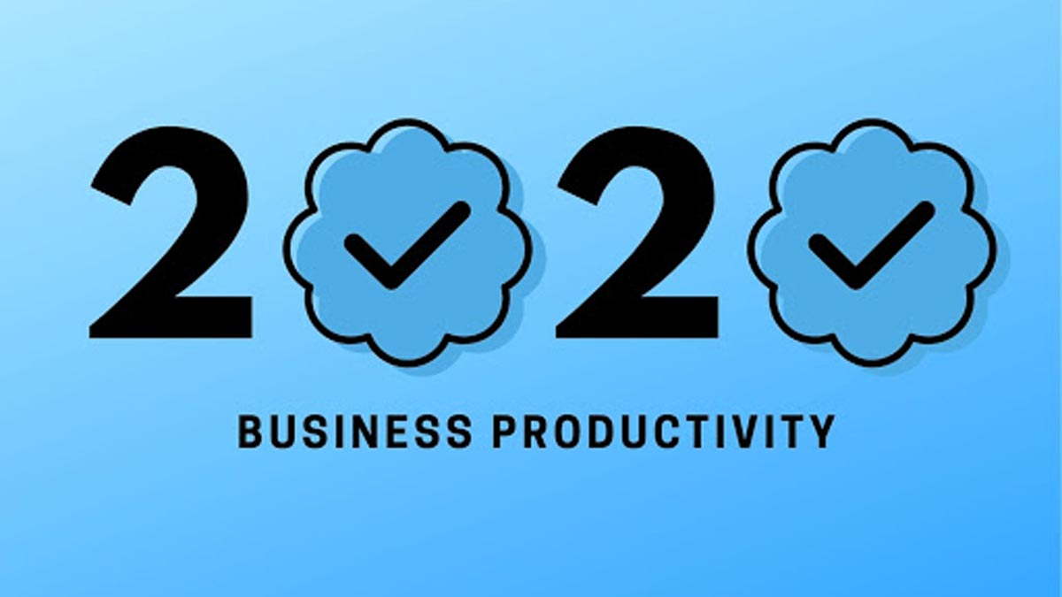How to Improve Your Company's Productivity for 2020